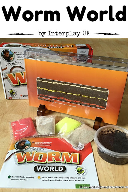 Nick Baker's Worm World by Interplay UK is part of the My Living World series. It is great for play-based learning.