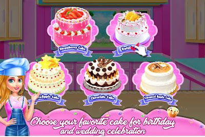 Doll Cake Bake Bakery Shop
