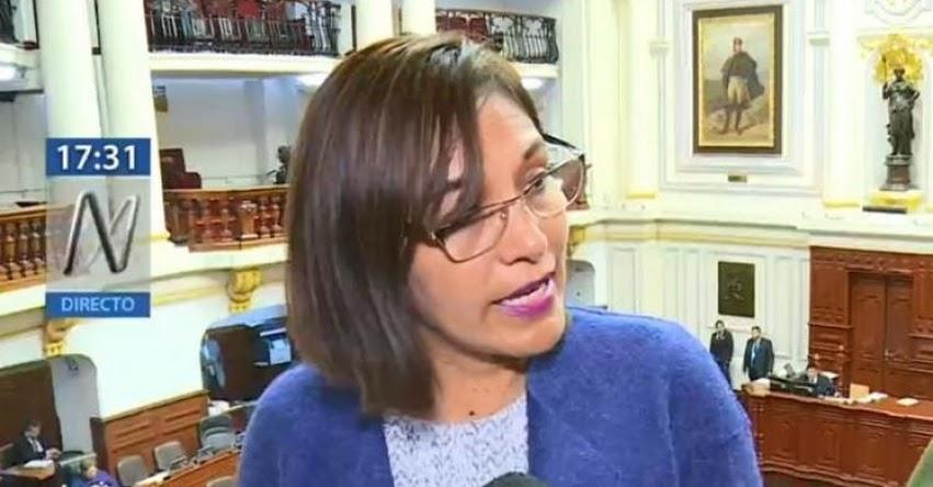 Comisión de Educación del Congreso halló responsabilidad política en Ministra de Educación, Flor Pablo Medina y 5 exministros tras informe final de textos escolares
