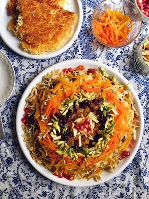 Javaher Polow (Persian Jeweled Rice)