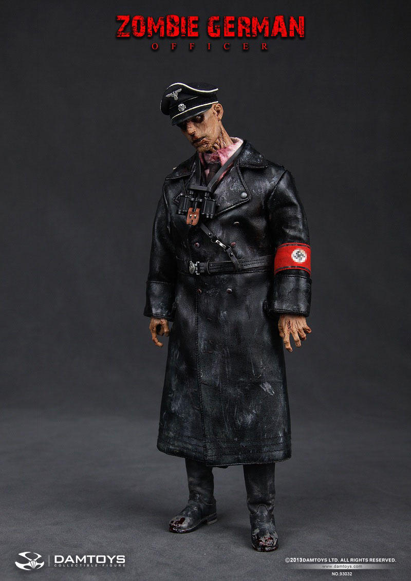 FORTY42: Preorder now! DAM TOYS Zombie German-SS Officer