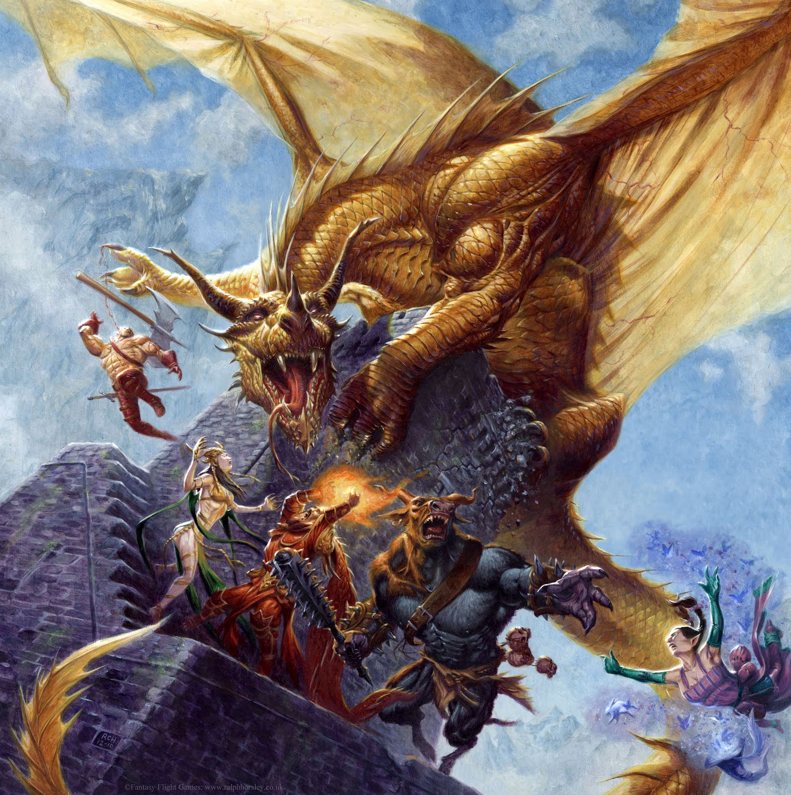 Ralph Horsley Talisman The Dragon