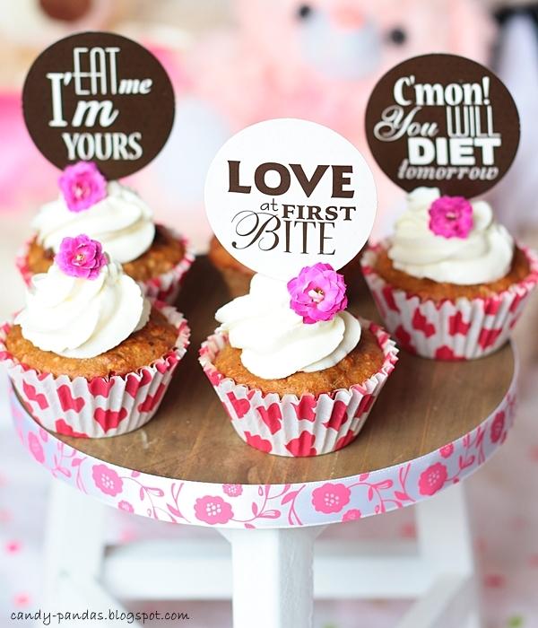 Kasztanowo-owsiane muffinki na Walentynki (bez glutenu, cukru białego, laktozy)