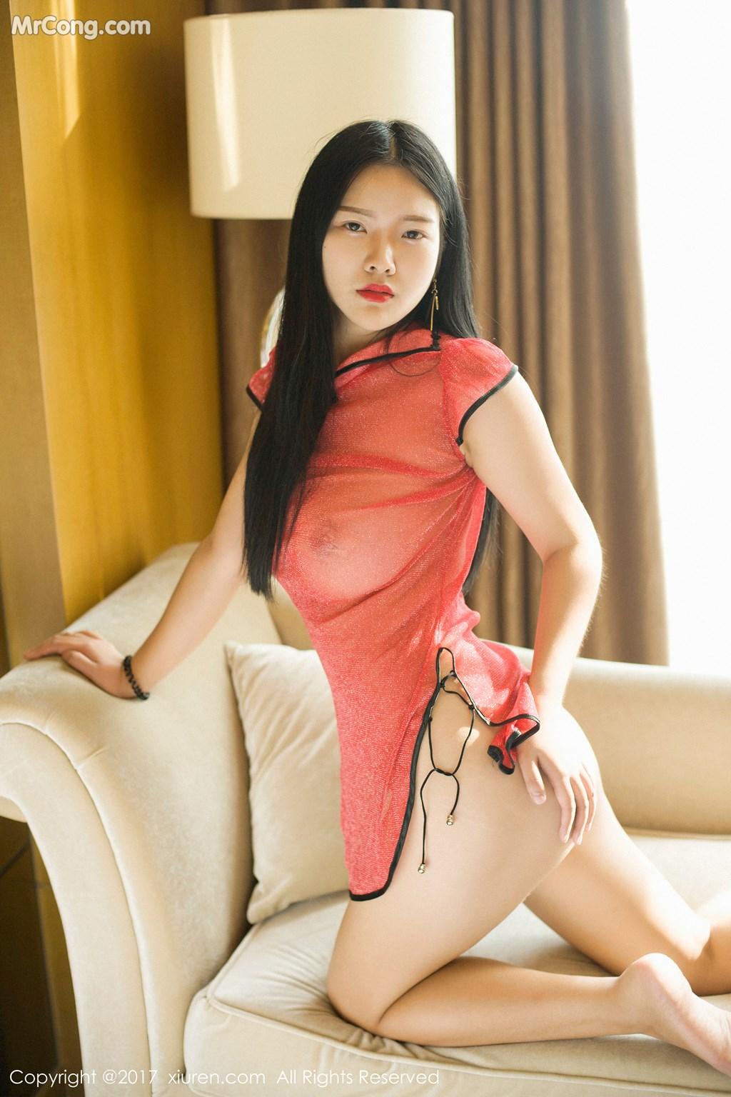 Image XIUREN-No.837-Ling-Xi-Er-MrCong.com-035 in post XIUREN No.837: Người mẫu Ling Xi Er (凌希儿) (48 ảnh)