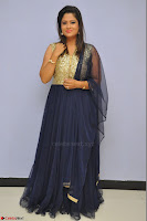 Shilpa Chakravarthy anchor and actress in anarkali dress  Exclusive 023.JPG