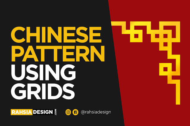 Chinese Pattern Tutorial Using Grids