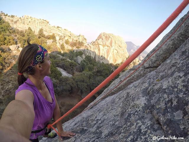 Camping & Climbing at City of Rocks, Idaho