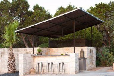 kanopi untuk dapur outdoor