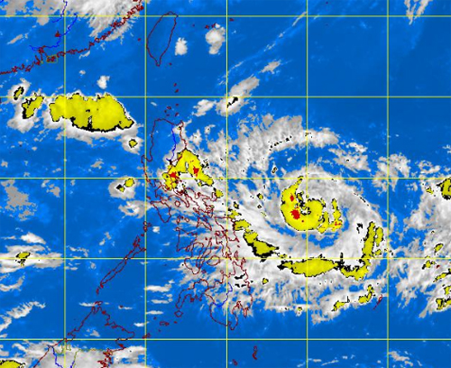 Tropical Storm LAWIN Update - September 21, 2012