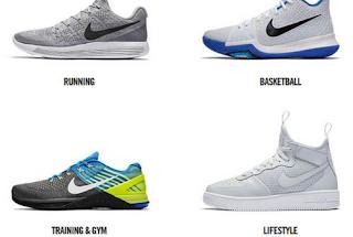 6 Perbedaan Sepatu Olahraga dengan Sepatu Sneaker