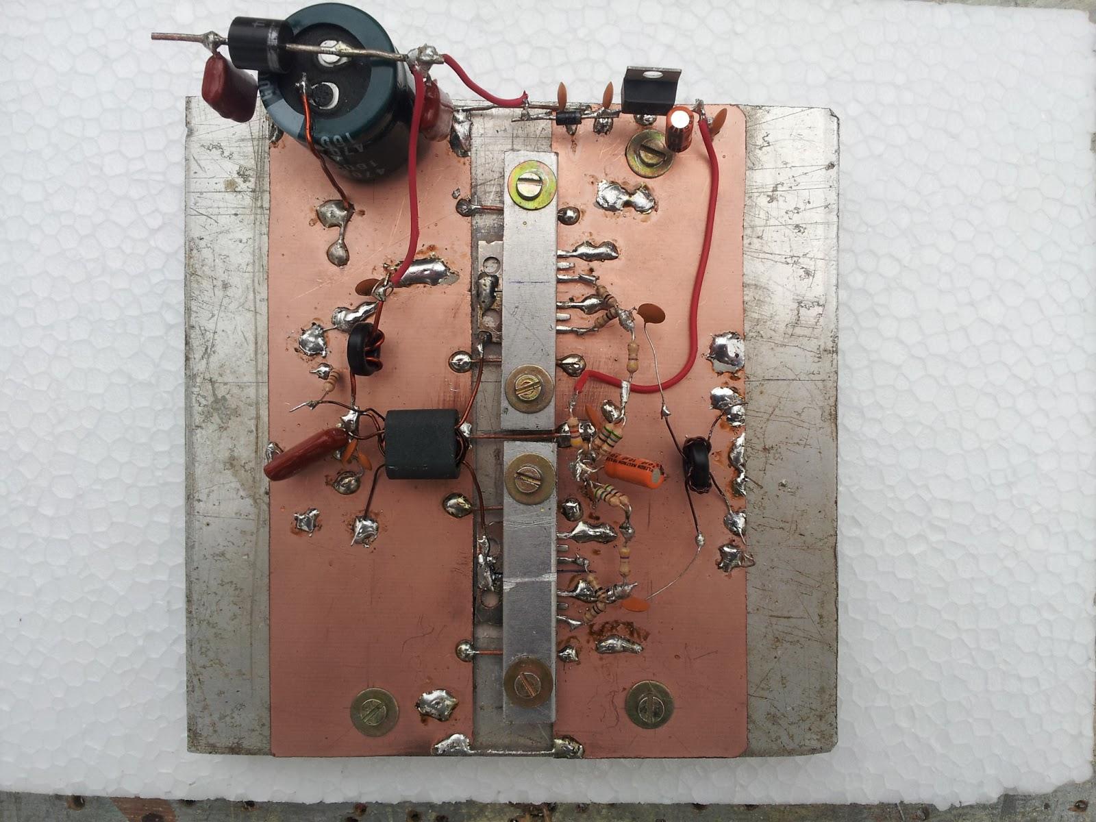 Ham Radio MIPL: RF Amplifier using IRF510