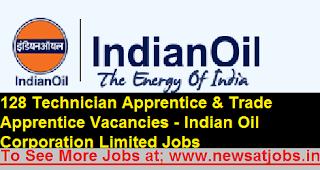 iocl-128-apprentices-Technicians-Recruitment-2017
