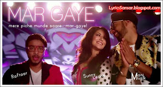 MAR GAYE LYRICS : Beiimaan Love | Manj Musik, Sunny Leone, RAFTAAR