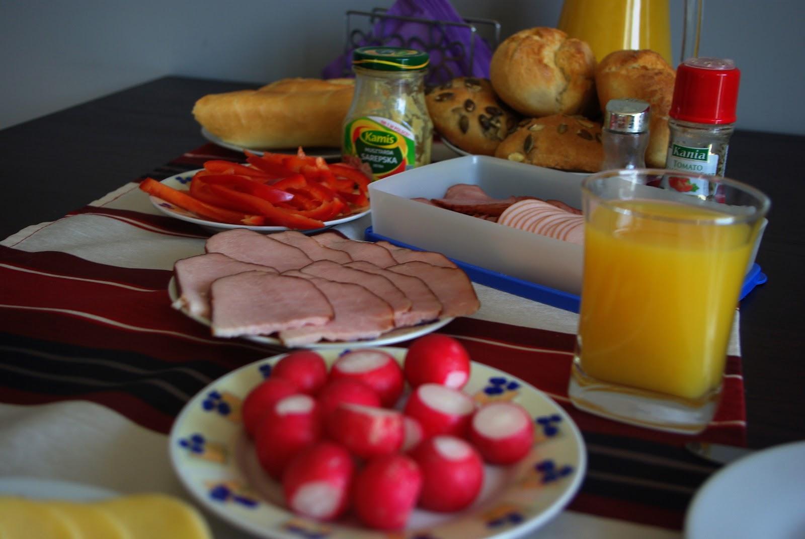 Śniadanie - najważniejszy posiłek w ciągu dnia.