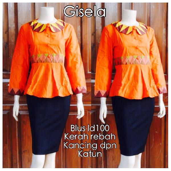 Model Blouse Batik Wanita cb10520677