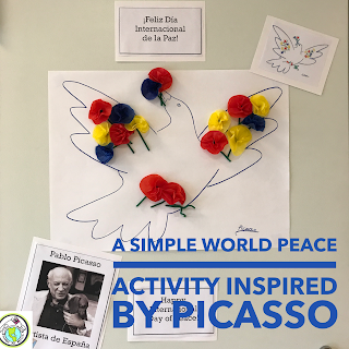 World Peace Activity Inspired by Picasso