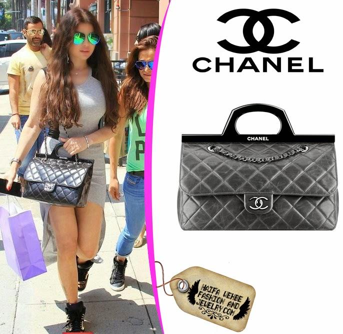 3185594c87a3d1 Haifa wehbe fashion and jewelry: Haifa Wehbe Carrying Chanel CC ...