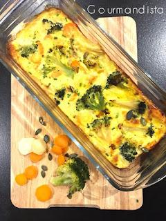 image Flan aux légumes et aux épices