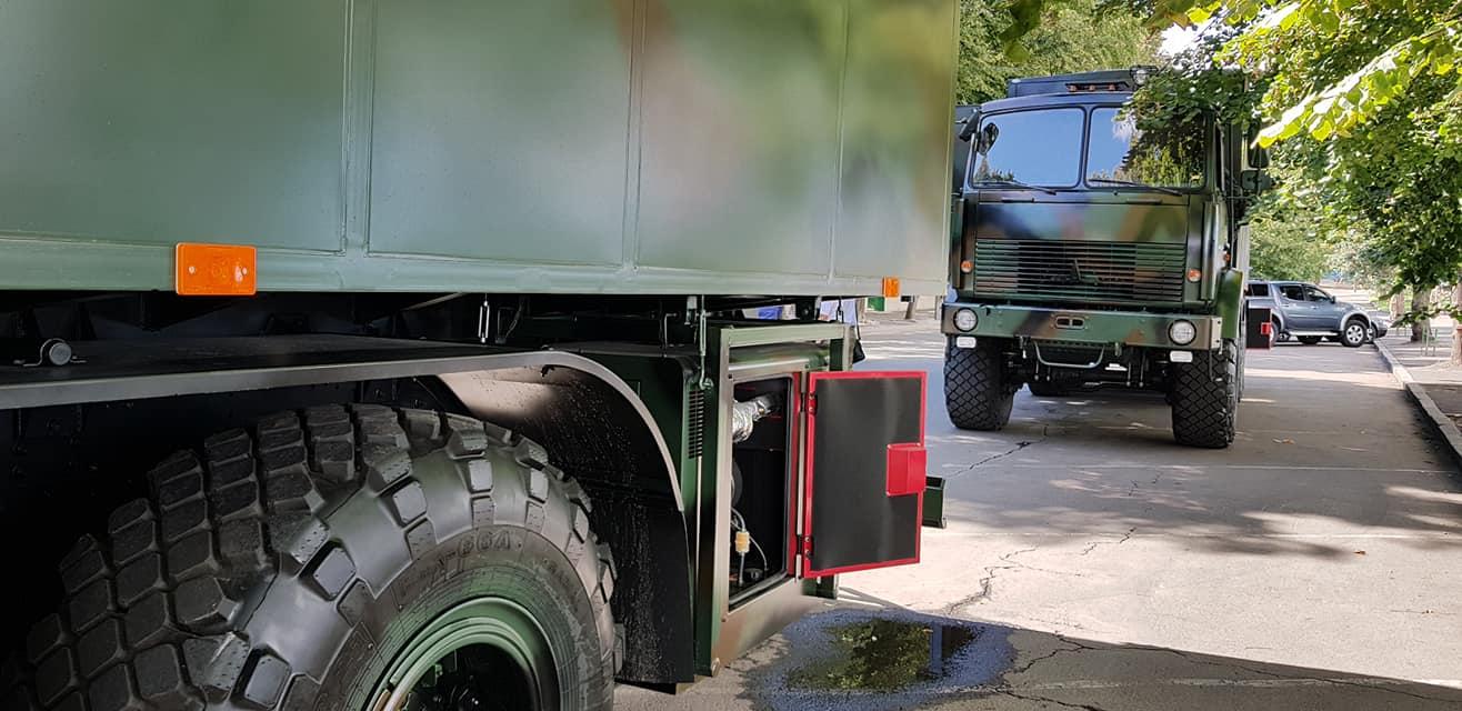 Ukrainian Military Pages - Збройні Сили отримали унікальні мобільні комплекси перевірки якості продуктів харчування