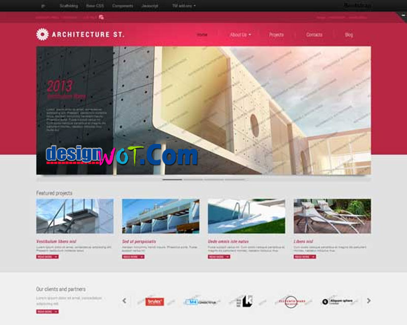 ARCHITECTURE ST Responsive HTML WordPress Template