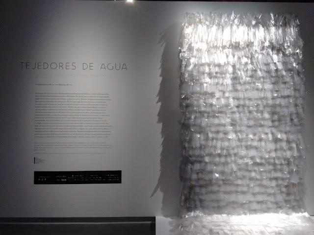 Tejedores de agua, conde duque, colombia, arte, colombiano, río, madrid, spain, artesanía, artesanos, artistas, voa gallery, yvonne brochard,