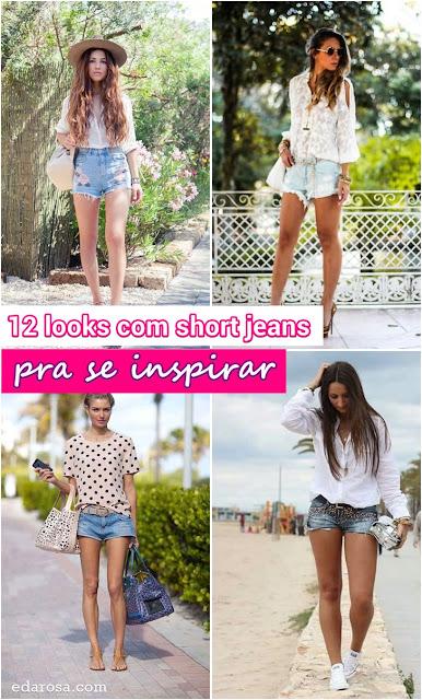 moda do short jeans