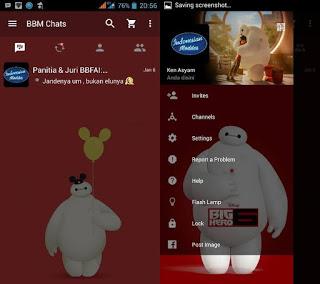 BBM Big Hero Terbaru 2016 Apk