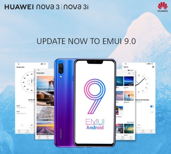 EMUI 9 Update Now Dropping In Two More Huawei Phones in PH