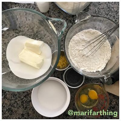 Lemon Poppyseed Sugar Cookies Ingredients