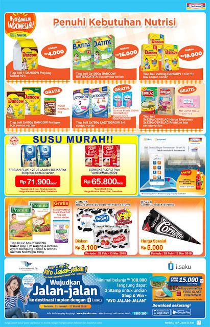 Katalog Promo INDOMARET Super Hemat Periode 28 Februari - 06 Maret 2018