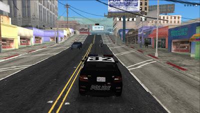 GTA V PS2 police vehicle