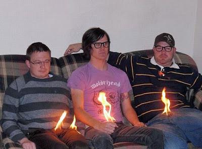 Lustige Bilder zum lachen Feuer
