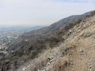 View wast from the trail to Van Tassel Ridge