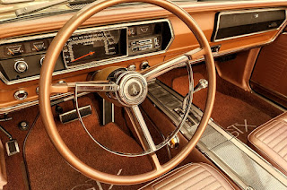1967 Plymouth Belvedere GTX 426 Hemi Steering Wheel