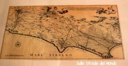 antica carta del territorio