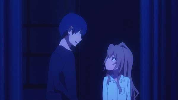 10 pasangan anime terbaik versi Charapedia - Ryuuji Takasu x Taiga Aisaka (Toradora!)