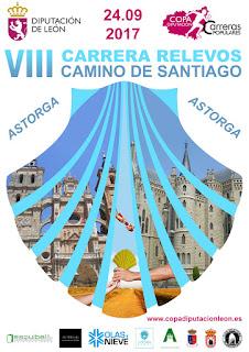 Carrera Relevos Camino de Santiago 2017