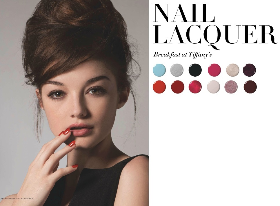 The beauty news opi breakfast at tiffany s holiday 2016 collection