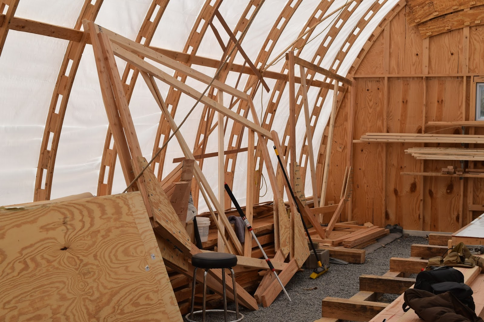 The Sea Dreamer Project: That\'s forever! Wooden boat frame construction.