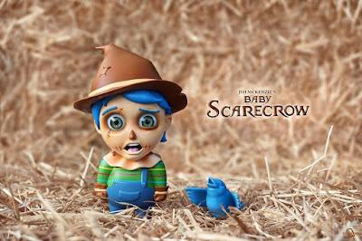 Baby Scarecrow Vinyl Figure by Jim McKenzie x ToyQube