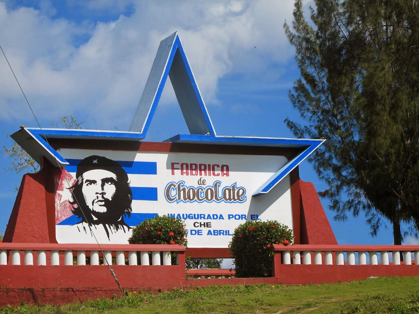 Fábrica de chocolate, no caminho para Playa Maguana.