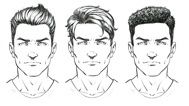how to draw male comic book characters