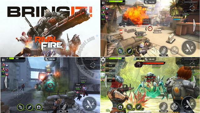 Rival Fire v1.1.1 Apk data Obb Terbaru For Android
