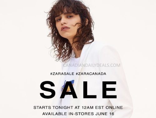 Zara Semi-Annual Summer Sale