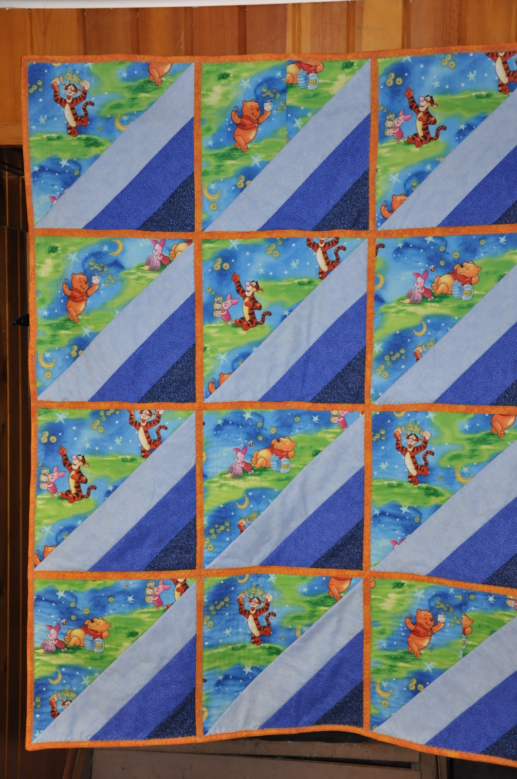 Pondering Cat: Reversible Echoing Baby Quilt using the Quilt-as ... : quilt as you go baby quilt - Adamdwight.com