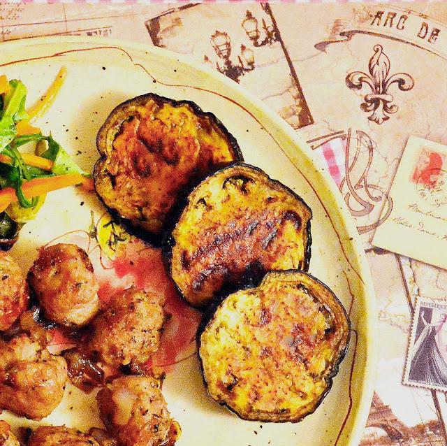 French style roasted eggplant