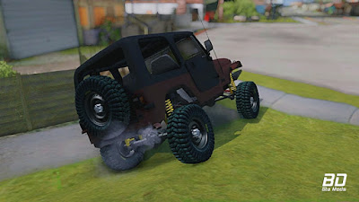 Download mod carro Jeep Wrangler - Rustico para GTA San Andreas , GTA SA PC