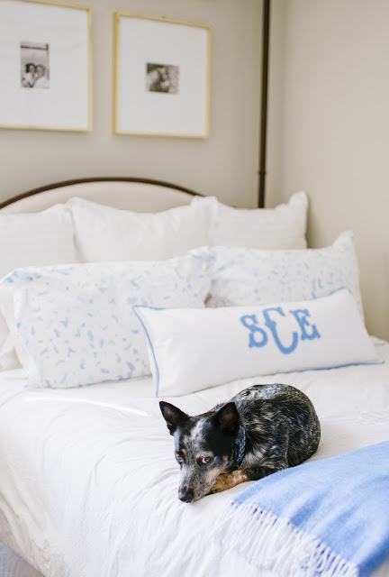 My Cornflower Blue Bedroom Look At His Cute Little Glance