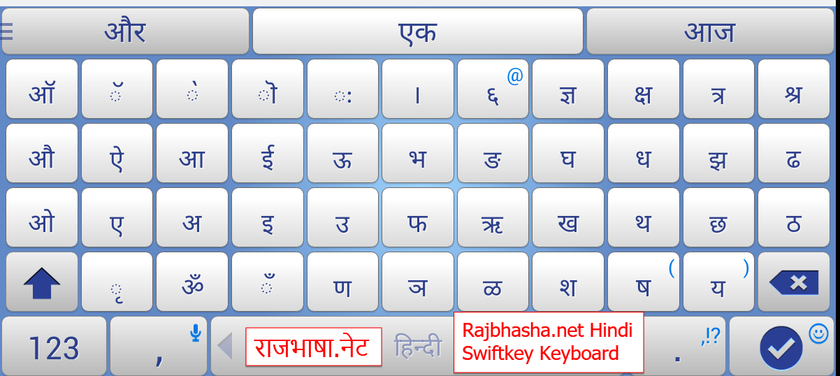 various Hindi Devanagri Keyboards and Fonts | Rajbhasha net