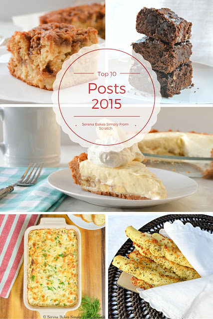 Top 10 Posts of 2015 from Serena Bakes Simply From Scratch.